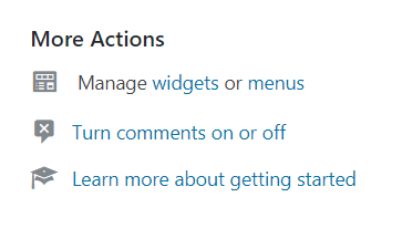 More Actions
